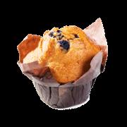 čučoriedkový muffin